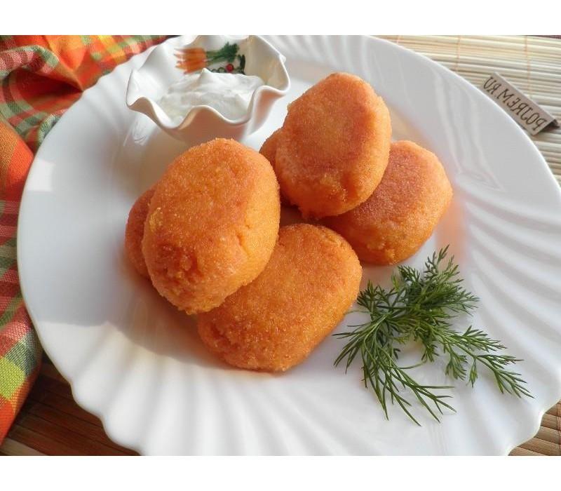 Морковные котлеты диетические рецепт фото